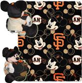 MLB Giants Disney Mickey Hugger & Fleece Throw