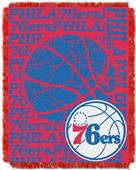 NBA 76ers Double Play Woven Jacquard Throw