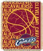 NBA Cavaliers Double Play Woven Jacquard Throw