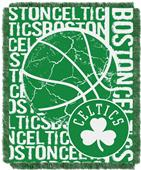 NBA Celtics Double Play Woven Jacquard Throw