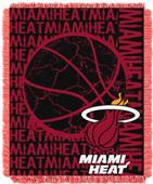 NBA Heat Double Play Woven Jacquard Throw