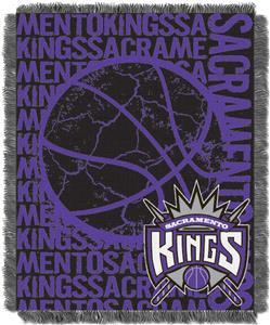 NBA Kings Double Play Woven Jacquard Throw