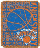 NBA Knicks Double Play Woven Jacquard Throw