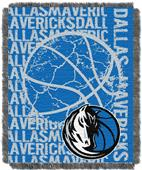 NBA Mavericks Double Play Woven Jacquard Throw