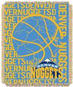 NBA Nuggets Double Play Woven Jacquard Throw