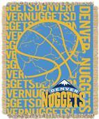 NBA Nuggets Double Play Woven Jacquard Throw