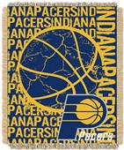 NBA Pacers Double Play Woven Jacquard Throw