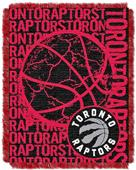 NBA Raptors Double Play Woven Jacquard Throw