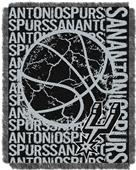 NBA Spurs Double Play Woven Jacquard Throw