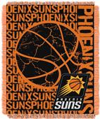 NBA Suns Double Play Woven Jacquard Throw