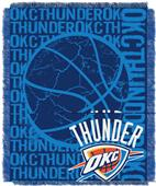 NBA Thunder Double Play Woven Jacquard Throw