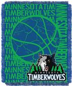 NBA Timberwolves Double Play Woven Jacquard Throw