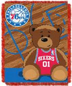 Northwest NBA 76ers Baby Woven Jacquard Throw