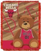 Northwest NBA Bulls Baby Woven Jacquard Throw