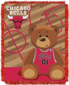 Northwest NBA Bulls Baby Woven Jacquard Throw