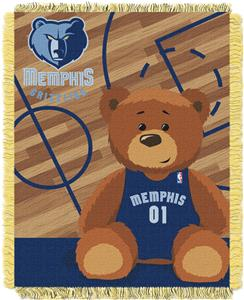 Northwest NBA Grizzlies Baby Woven Jacquard Throw