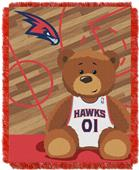 Northwest NBA Hawks Baby Woven Jacquard Throw