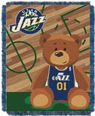 Northwest NBA Jazz Baby Woven Jacquard Throw