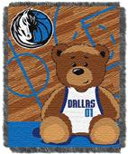 Northwest NBA Mavericks Baby Woven Jacquard Throw