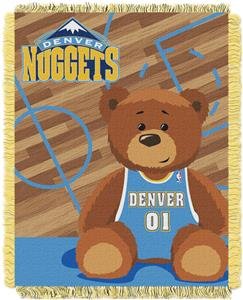 Northwest NBA Nuggets Baby Woven Jacquard Throw