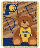 Northwest NBA Pacers Baby Woven Jacquard Throw