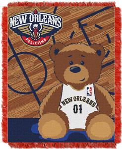 Northwest NBA Pelicans Baby Woven Jacquard Throw