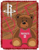 Northwest NBA Rockets Baby Woven Jacquard Throw