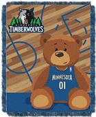 Northwest NBA Minnesota Baby Woven Jacquard Throw