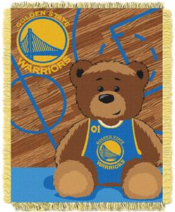 Northwest NBA Warriors Baby Woven Jacquard Throw
