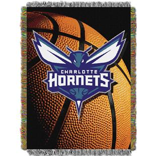 Northwest NBA Hornets Photo Real Tapestry Throw