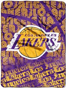 Northwest NBA Lakers Redux Micro Raschel Throw