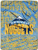 Northwest NBA Nuggets Redux Micro Raschel Throw