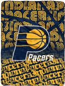 Northwest NBA Pacers Redux Micro Raschel Throw