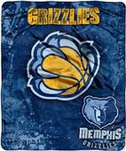 Northwest NBA Grizzlies Dropdown Raschel Throw