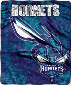 Northwest NBA Hornets Dropdown Raschel Throw