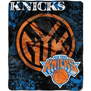 Northwest NBA Knicks Dropdown Raschel Throw