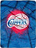 Northwest NBA Clippers Shadow Play Raschel Throw