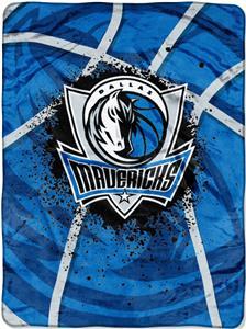 Northwest NBA Mavericks Shadow Play Raschel Throw