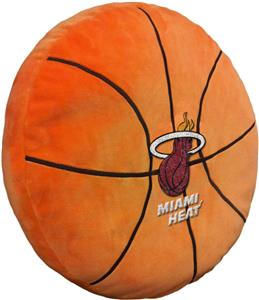 Northwest NBA Heat Basketball Shaped 3D Pillow