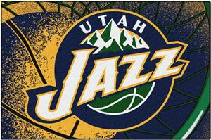 Northwest NBA Jazz Large Tufted Rug