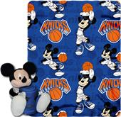 NBA Knicks Disney Mickey Hugger & Fleece Throw