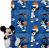 NBA Magic Disney Mickey Hugger & Fleece Throw