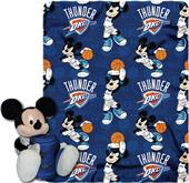 NBA Thunder Disney Mickey Hugger & Fleece Throw