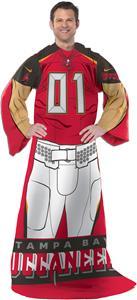 Northwest NFL Buccaneers Uniform Adult Comfy Throw
