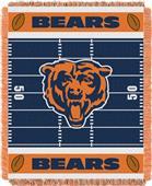 Northwest NFL Bears Field Baby Woven Throw