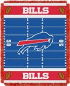 Northwest NFL Bills Field Baby Woven Throw