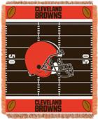 Northwest NFL Browns Field Baby Woven Throw