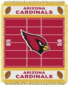 Northwest NFL Cardinals Field Baby Woven Throw