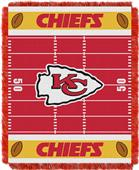 Northwest NFL Chiefs Field Baby Woven Throw