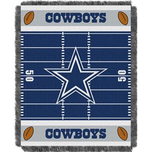 Northwest NFL Cowboys Field Baby Woven Throw